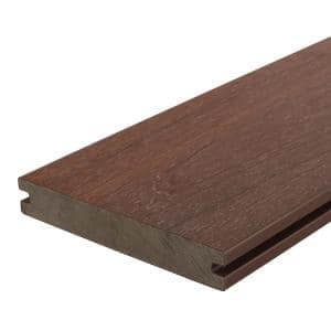UltraShield Naturale Magellan 1 in. x 6 in. x 8 ft. Brazilian Ipe Solid with Groove Composite Decking Board