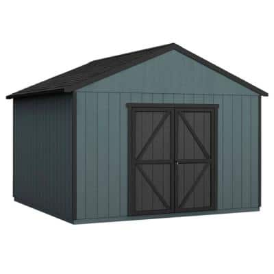 Do-it Yourself Astoria 12 ft. x 20 ft. Wooden Storage Shed with Flooring Included