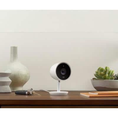 Nest Cam IQ Indoor - Full HD Wired Smart Home Security Camera (2-Pack)