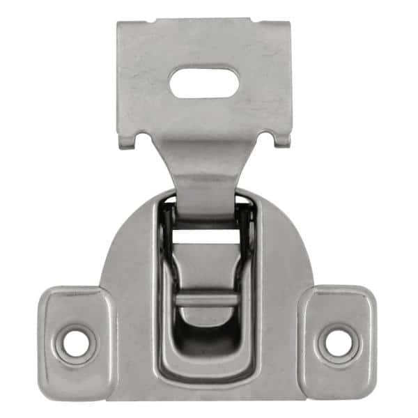 Hickory Hardware Euroframe 1 2 In Polished Nickel Overlay Face Frame Self Close Concealed Hinge P5125 14 The Home Depot