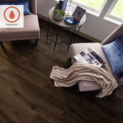 Outlast+ 7.48 in. W Vintage Tobacco Oak Waterproof Laminate Wood Flooring (1079.65 sq. ft./pallet)