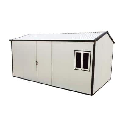 Gable Roof 16 ft. x 10 ft. Insulated Building Shed
