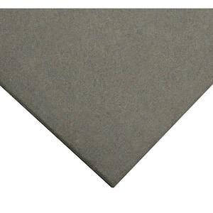 Eco-Sport 1 in. T x 1.66 ft. W x 1.66 ft. L Coal Interlocking Rubber Flooring Tiles (8.3 sq. ft.) (3-pack)