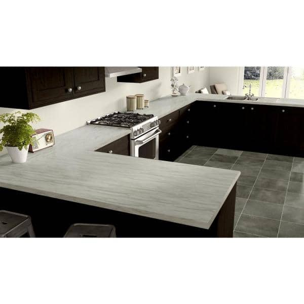 Wilsonart 4 Ft X 8 Ft Laminate Sheet In Re Cover Pearl Sequoia Premium Textured Gloss Finish 5001k77354896 The Home Depot