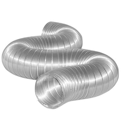 7 in. x 8 ft. Semi-Rigid Flexible Aluminum Duct