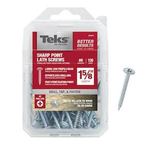 fine thread sq Kreg pocket Hole Screws 38mm 1-1//2/'/',Maxi-Loc Head zinc coated