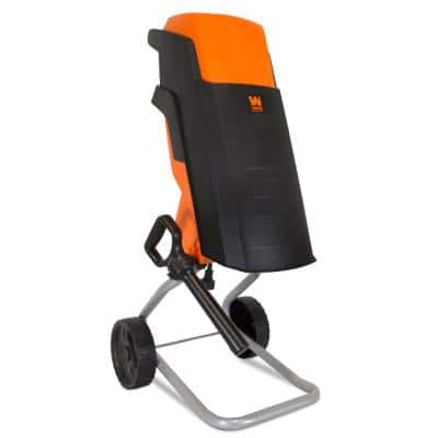 15 Amp Rolling Electric Wood Chipper and Shredder