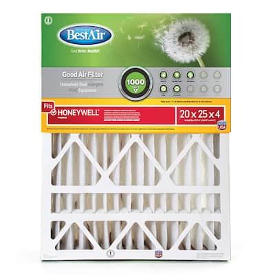 20 x 25 x 4 Honeywell FPR 4 Air Cleaner Filter