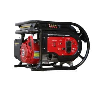 1600-Watt Manual Start Gasoline Powered Portable Generator