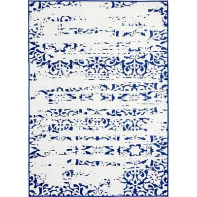 Maltese 5 ft. x 8 ft. Outdoor and Indoor Rectangle Area Rug