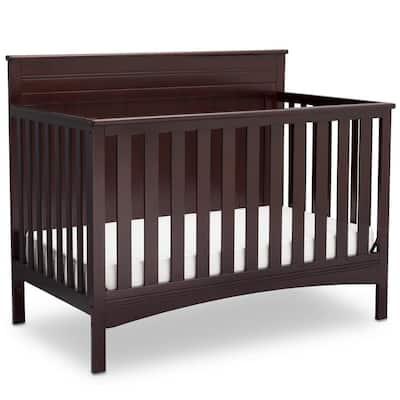 Fancy Dark Chocolate 4-in-1 Convertible Crib