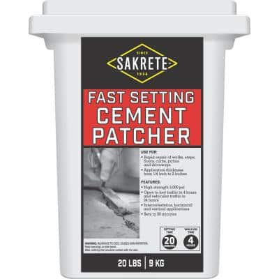 20 lb. Fast Setting Cement Patcher