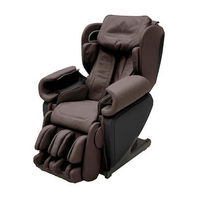 Kagra Espresso Modern Synthetic Leather Premium Super Stretch 4D Massage Chair