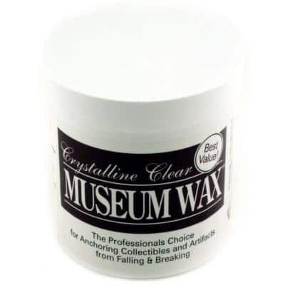 13 oz. Crystalline Clear Museum Wax