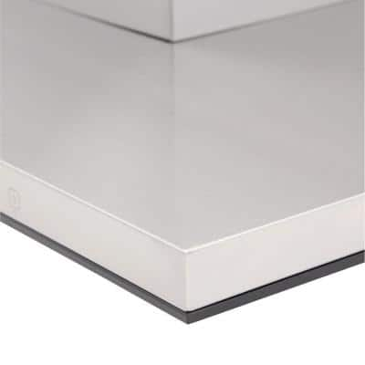 Contemporary Series 36 in. Canopy Range Hood in Stainless Steel