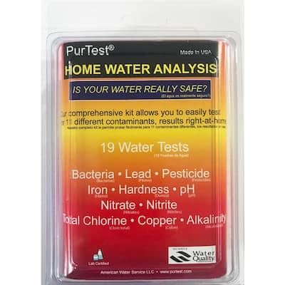 Home Water Analysis Kit