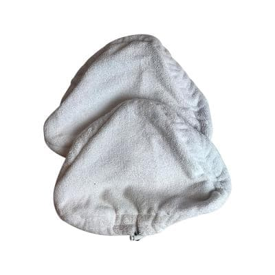 Replacement Microfiber Steam Mop Pads, Fits H20 Ti and Steamboy Mops, Compatible with Part T1MICROPAD (2-Pack)