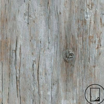 2 ft. x 4 ft. Laminate Sheet in RE-COVER Factory Antique Wood with Virtual Design SoftGrain Finish