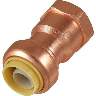 1/2 in. Push-to-Connect x FIP Copper Adapter Fitting