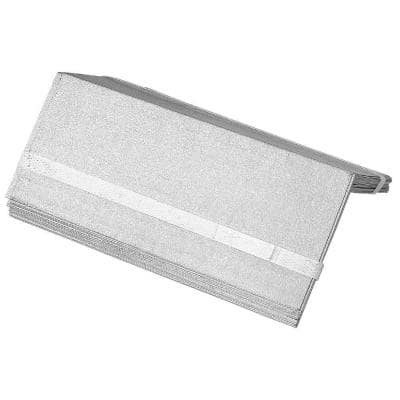 5 in. x 8 in. Galvanized Steel Step Flashing (25-Pack)