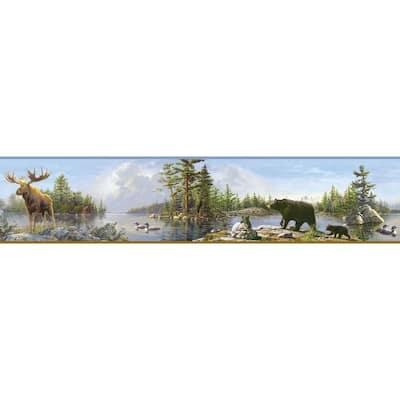 Carnegie Sky Moose Lake Sky Wallpaper Border