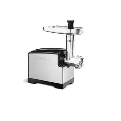 300 W Stainless Steel Electric Meat Grinder with Sausage Stuffing Kit