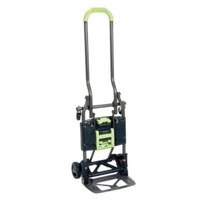 Shifter 300 lb. 2-In-1 Convertible Hand Truck and Cart
