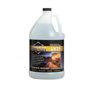Ultra Low VOC 1 gal. Clear High Gloss Acrylic Co-Polymer Sealer and Curing Compound