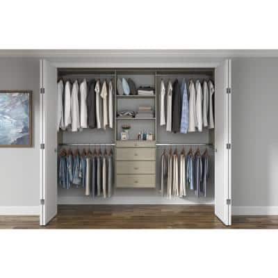 Walk In Closet Systems Closet Organizers The Home Depot