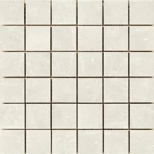 Uptown Sugar Hill 11.81 in. x 11.81 in. x 9mm Porcelain Mesh-Mounted Mosaic Tile (0.97 sq. ft.)