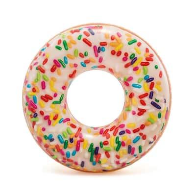 Sprinkle Donut Tube Pool Float