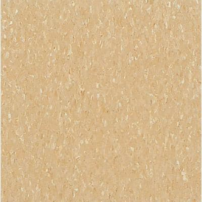 Imperial Texture VCT 12 in. x 12 in. Camel Beige Standard Excelon Commercial Vinyl Tile (45 sq. ft. / case)