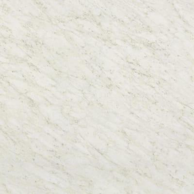 4 ft. x 12 ft. Laminate Sheet in White Carrara with Standard Fine Velvet Texture Finish