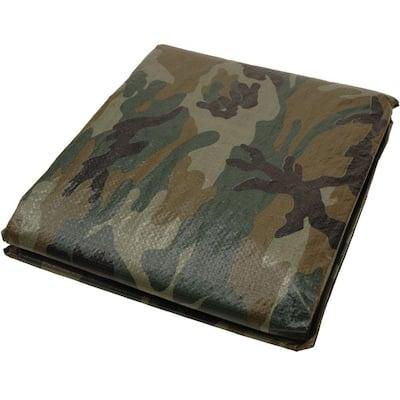 10 ft. x 12 ft. Camouflage Tarp