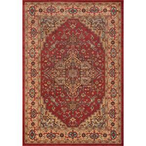 Ghazni Red 8 ft. x 10 ft. Indoor Area Rug