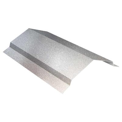 10 ft. 29-Gauge Galvalume Steel RC2 Ridge Cap Flashing