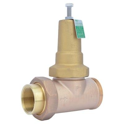 1-1/2 in. Bronze EB-45 Single Union Pressure Regulating Valve