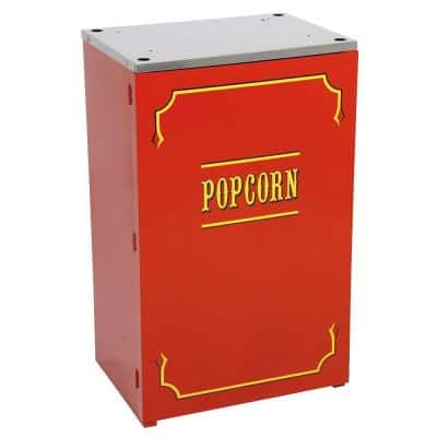 Premium Theater 6 and 8 oz. Red Popcorn Stand