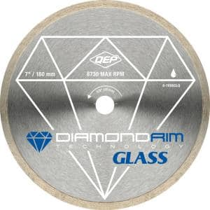Glass Series 7 in. Wet Tile Saw Continuous Rim Diamond Blade