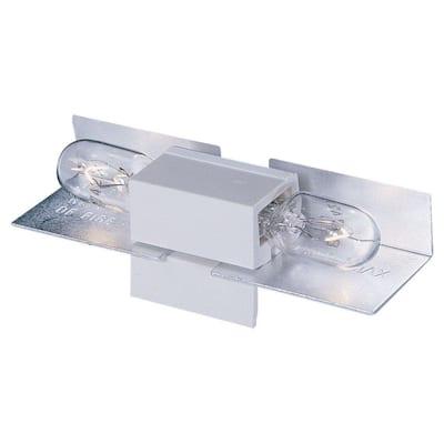White Lx Wedge Base Lamp Holder