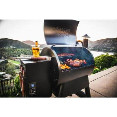 Pro Series 22 Pellet Grill in Bronze