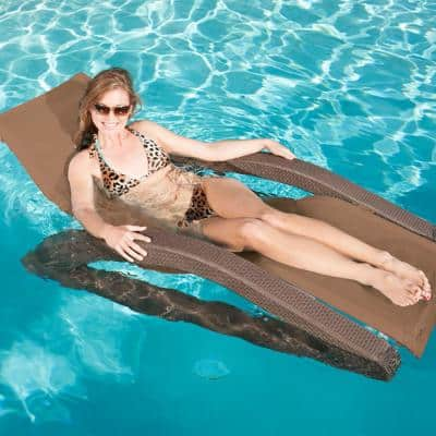Terra Sol All Weather Luxury Patio Riviera Chaise Pool Lounge (2-Pack)
