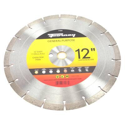 12 Premium Diamond High Speed Contractor Blade