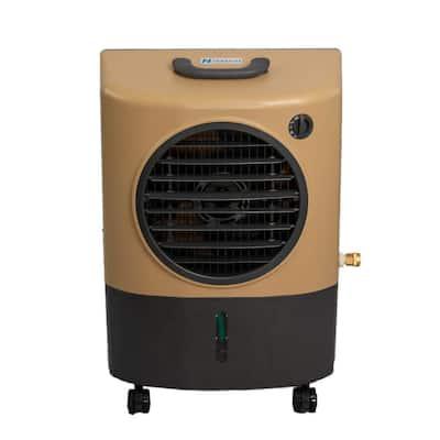 1300 CFM 2-Speed Portable Evaporative Cooler Swamp Cooler for 500 sq. ft. in Sandstone