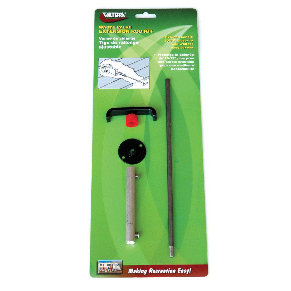 Waste Valve Solid Rod Extension Kit