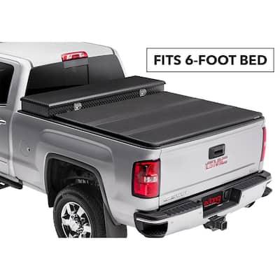 "Solid Fold 2.0 Toolbox Tonneau Cover - 99-06 (07 Classic) Chevy Silverado/GMC Sierra 6'6"" Bed - Fleetside"