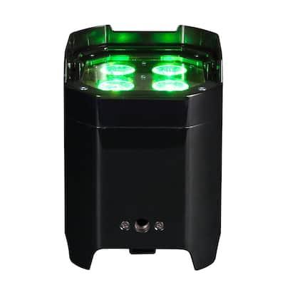 Element Black 10-Watt Hex IP Wifly DMX RBAW +UV Par High Bay Integrated LED Commercial Light Type