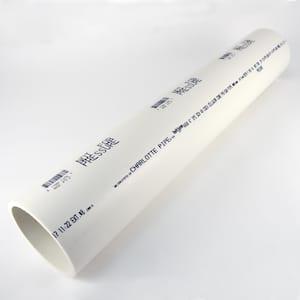 4 in. x 2 ft. PVC Schedule 40 DWV Foam Core Pipe