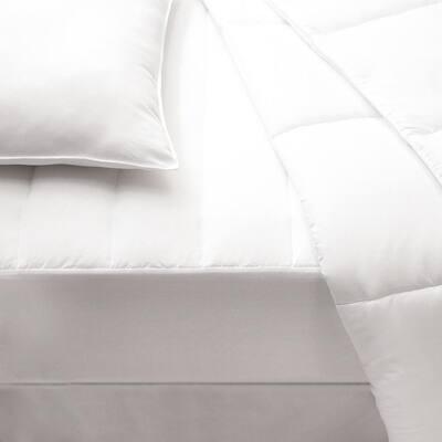 Allied Home Plush Standard Polyester Twin Mattress Pad