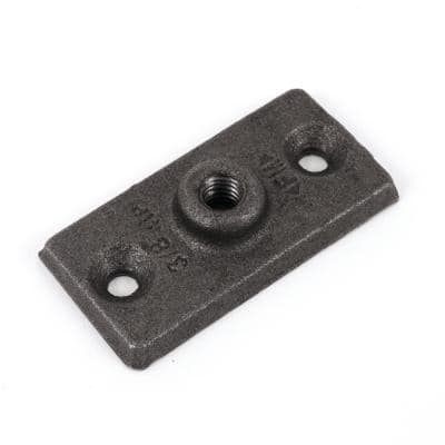 3/8 in. Galvanized Pipe Support Ceiling Plate